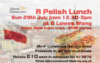 Polish Lunch Poster
