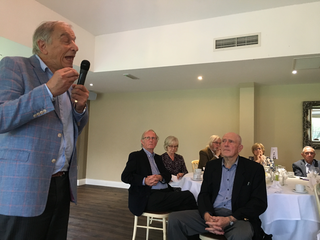 Bill Newton-Dunn at Southwell Branch Annual Lunch 2019